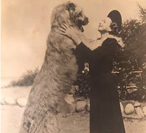Aunt Pat Callanan and Rory, 1930s